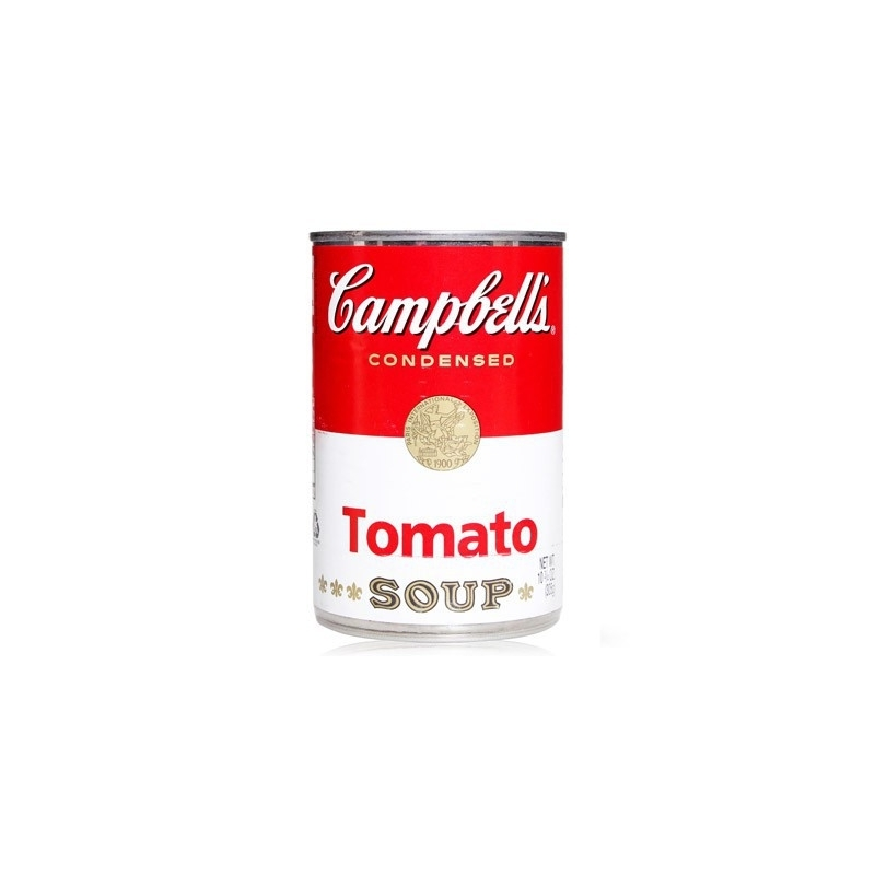 campbell soup essay The initial idea for the soup can series has been credited o the interior designer, and later galleries, muriel lotto who told warhol he should paint money, or something people see every day, like a campbell soup can (quoted in g.