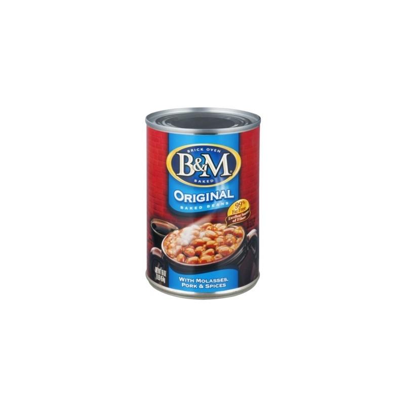 B&M baked beans - Fagioli Stufati originali, 454 gr