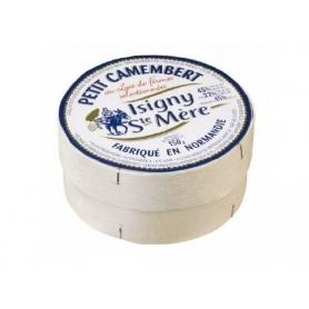 Petit Camembert d'Isigny, le lait de vache, 150 gr.