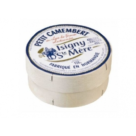 Petit Camembert d'Isigny, Latte di vacca, 150 gr.