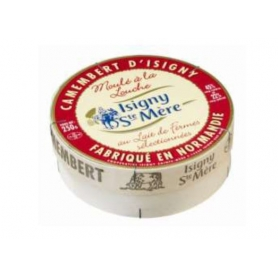 Camembert d'Isigny, Cow's milk, 250 gr.