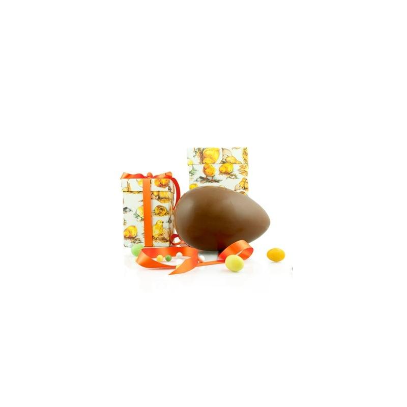 Handwerk Osterei Eigelb in Geschenk-Box, Schokolade Milch, 500 gr