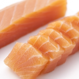 klassische Herz geräuchertem Lachs, 400 gr
