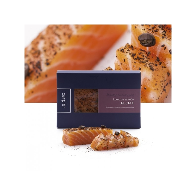 smoked salmon flavored coffee ', 400 gr