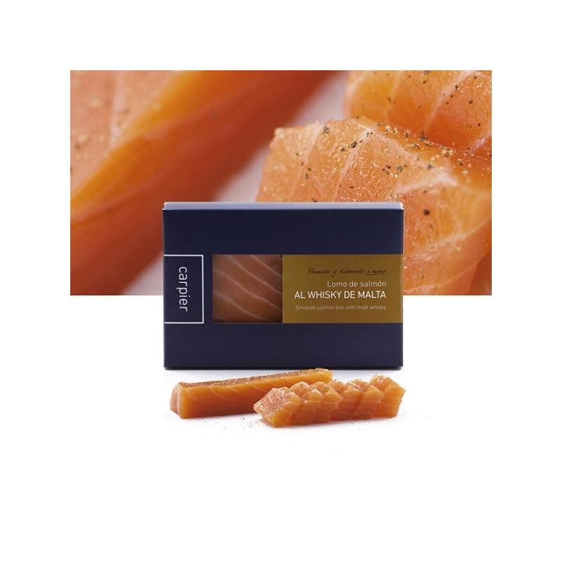smoked salmon aroma Malt Whisky 8 years, 150 gr - Carpier