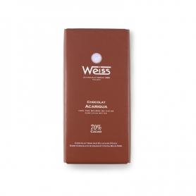 Tablet Weiss - Schokolade Acarigua, 100 gr