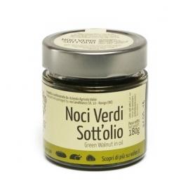 noix vertes dans l'huile, 180 gr - Azienda Agricola Valier