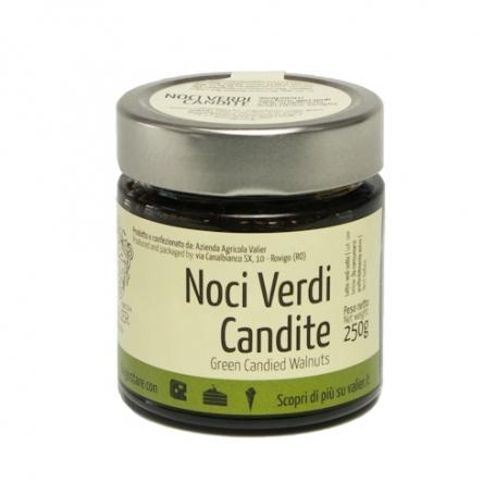 Noci Verdi candite, 250 gr - Azienda Agricola Valier