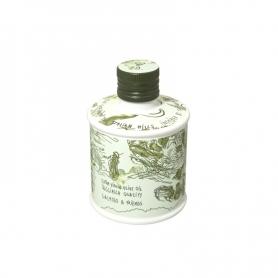 Öl Taggiasca Qualität EVO Design by Sam Baron, 250 ml - Etiquette & Friends