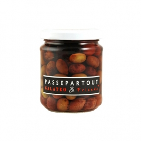 Olive Taggiasche in salamoia, 120 gr - Galateo&Friends