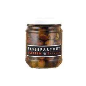 Olive Taggiasche snocciolate in olio EVO, 180 gr - Galateo&Friends
