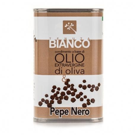 Condimento all'olio extravergine di oliva e limone, 250 ml - Tenuta Bianco