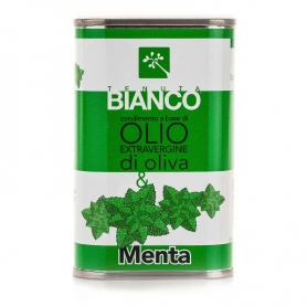 Extra virgin olive oil and Mint seasoning, 250 ml - Tenuta Bianco