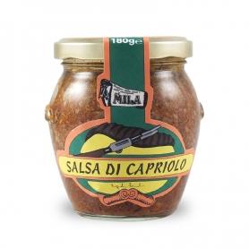 Salsa di capriolo, 180 gr. - Boutique Mila