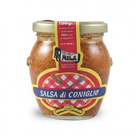 rabbit sauce, 180 gr. - Boutique Mila