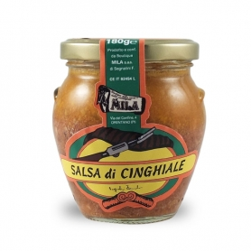 wild boar sauce, 180 gr. - Boutique Mila
