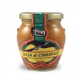 Wildschwein-Sauce, 180 gr. - Boutique Mila