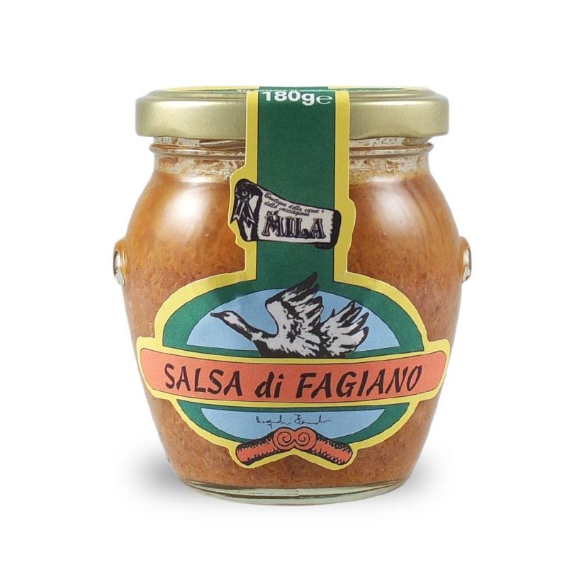 Salsa di fagiano, 180 gr. - Boutique Mila