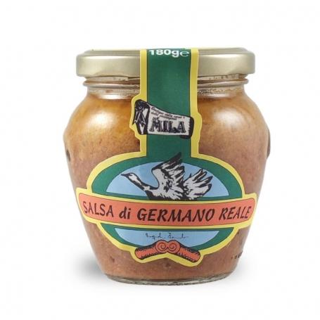 Salsa di germano reale, 180 gr. - Boutique Mila - Sughi di carne e cacciagione