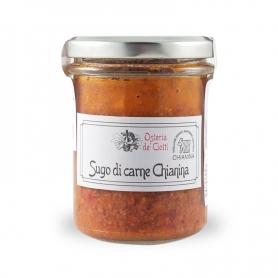 sauce à la viande Chianina, 200 gr. - Osteria de 'Ciotti