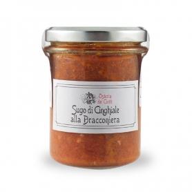 Bracconiera wild boar sauce, 200 gr. - Osteria de 'Ciotti