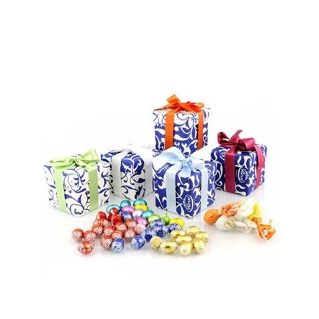 Cubotto Box mit Schokoladeneier, 250 gr - Le confezioni di Pasqua