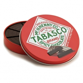 Fondant chocolates with Tabasco, 50 gr. - Mcilhenny