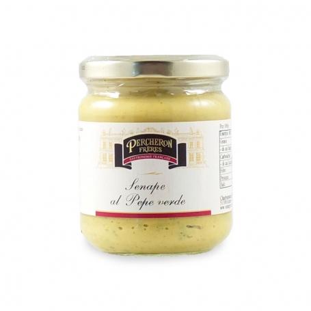 Senf mit grünem Pfeffer - Téméraire - Specialità europee