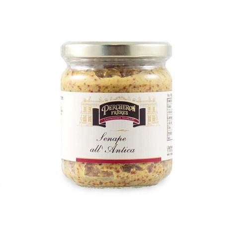 Moutarde à l'ancienne haricots, 200 gr - Téméraire