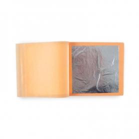 Silber Lebensmittel in Broschüren, 12 80x80 mm-Platten