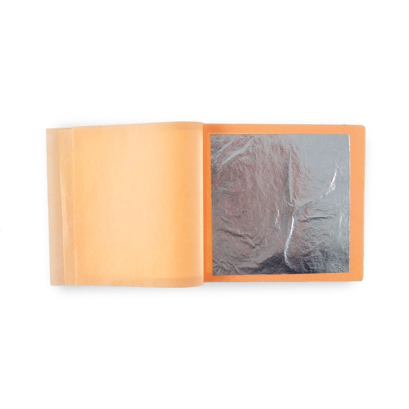 Silver Food in booklets, 12 80x80 mm sheets