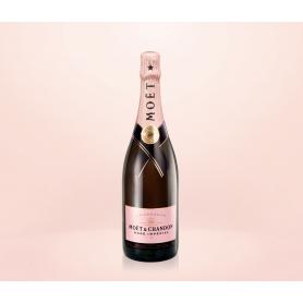 Moet & Chandon - Champagne Rosé Impérial, l. 0,75 1 Flasche Beutel.
