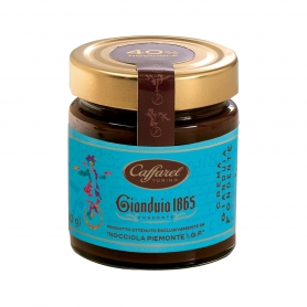 Gianduia Fondante spreadable cream 40% Piedmont PGI hazelnuts, 210 gr. - Caffarel