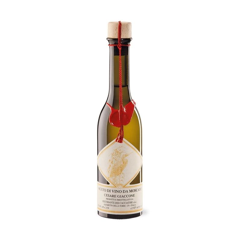 Muscat vinegar, l. 0.25 - Cesare Giaccone