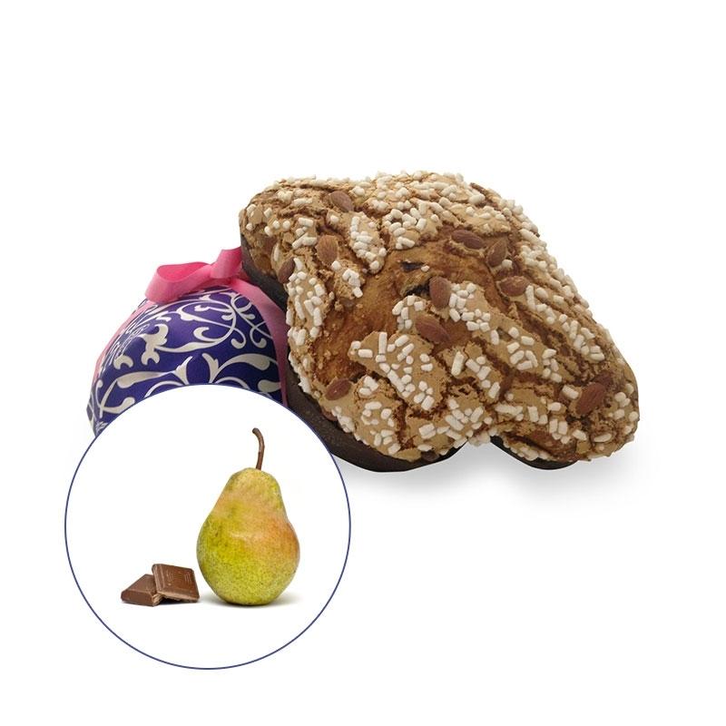 Colomba artigianale al gusto pere e cioccolato Rossi, 1 kg