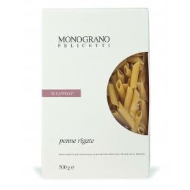 """Penne rigate """"IL CAPPELLI"""", 500 gr - Pastificio Felicetti"""