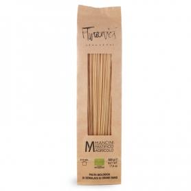 Penne liscie di grano Turanico BIO, 500 gr - Pastificio Mancini