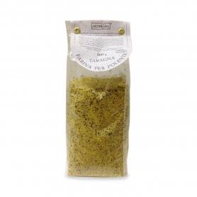 Polenta instantanée taragna - le maïs et la farine de sarrasin, 500 gr.