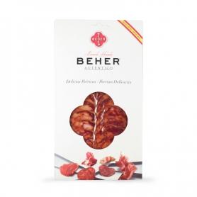 chorizo ibérique - Bellota (salami Pata Negra), 100 gr, pré-tranché
