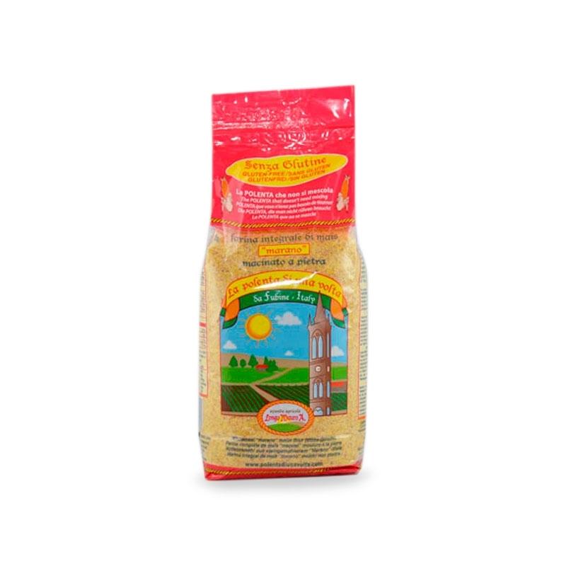 Polenta di farina di mais Marano macinato a pietra, 1 kg - Azienda Agricola Longo