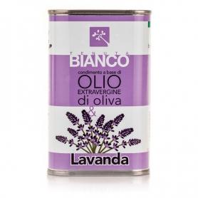 Vinaigrette à l'huile d'olive extra vierge et Lavande, 250 ml - Tenuta Blanc