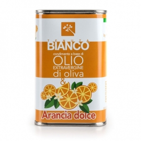 Extra virgin olive oil and orange dressing, 250 ml - Tenuta Bianco