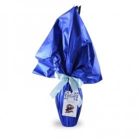 artisanat aux oeufs de Pâques Rossi toupet - chocolat noir, 150 gr
