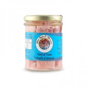 Filets de thon albacore en saumure, 200 gr - Ittica Capo San Vito