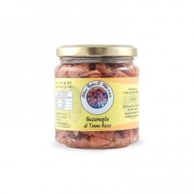 thon rouge Buzzonaglia dans l'huile d'olive, 300 gr - Ittica Capo San Vito