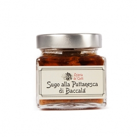 Sauce with cod puttanesca, 200 gr - Osteria de 'Ciotti