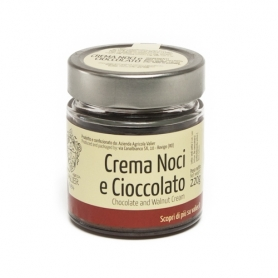 Nuts and chocolate cream, 220 gr. - Valier Farm