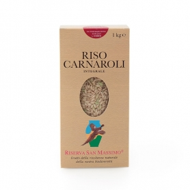 Carnaroli Integrale rice, 1 kg - Riserva San Massimo