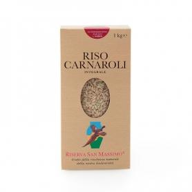 Riz Carnaroli Integrale, 1 kg - Riserva San Massimo