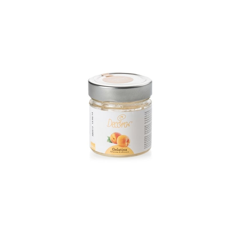 Apricot jelly taste, 200 gr - Decorate